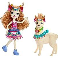 Enchantimals - Luella Llama y Fleecy, muñeca