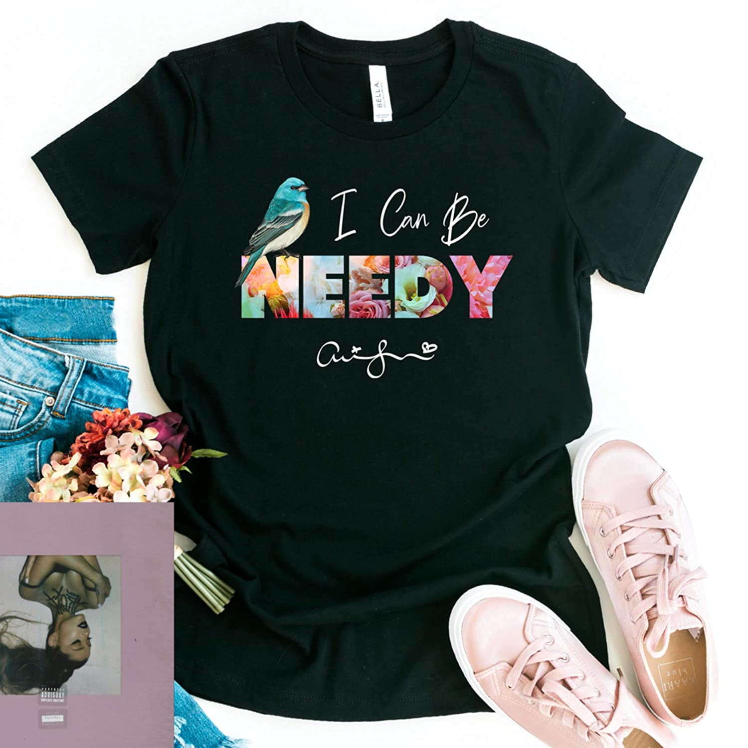 Amazon Com I Can Be Needy Tee Ariana Grande T Shirt Nasa 7