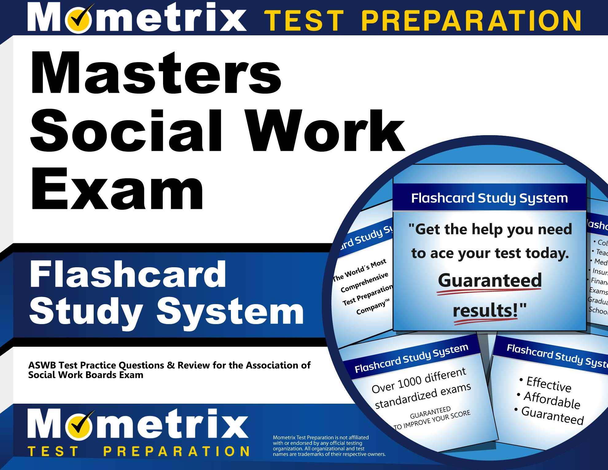 Masters Social Work Exam Flashcard Study System: ASWB Test Practice Questions & Review for the Association of Social Work Boards Exam (Cards) by Mometrix Media LLC