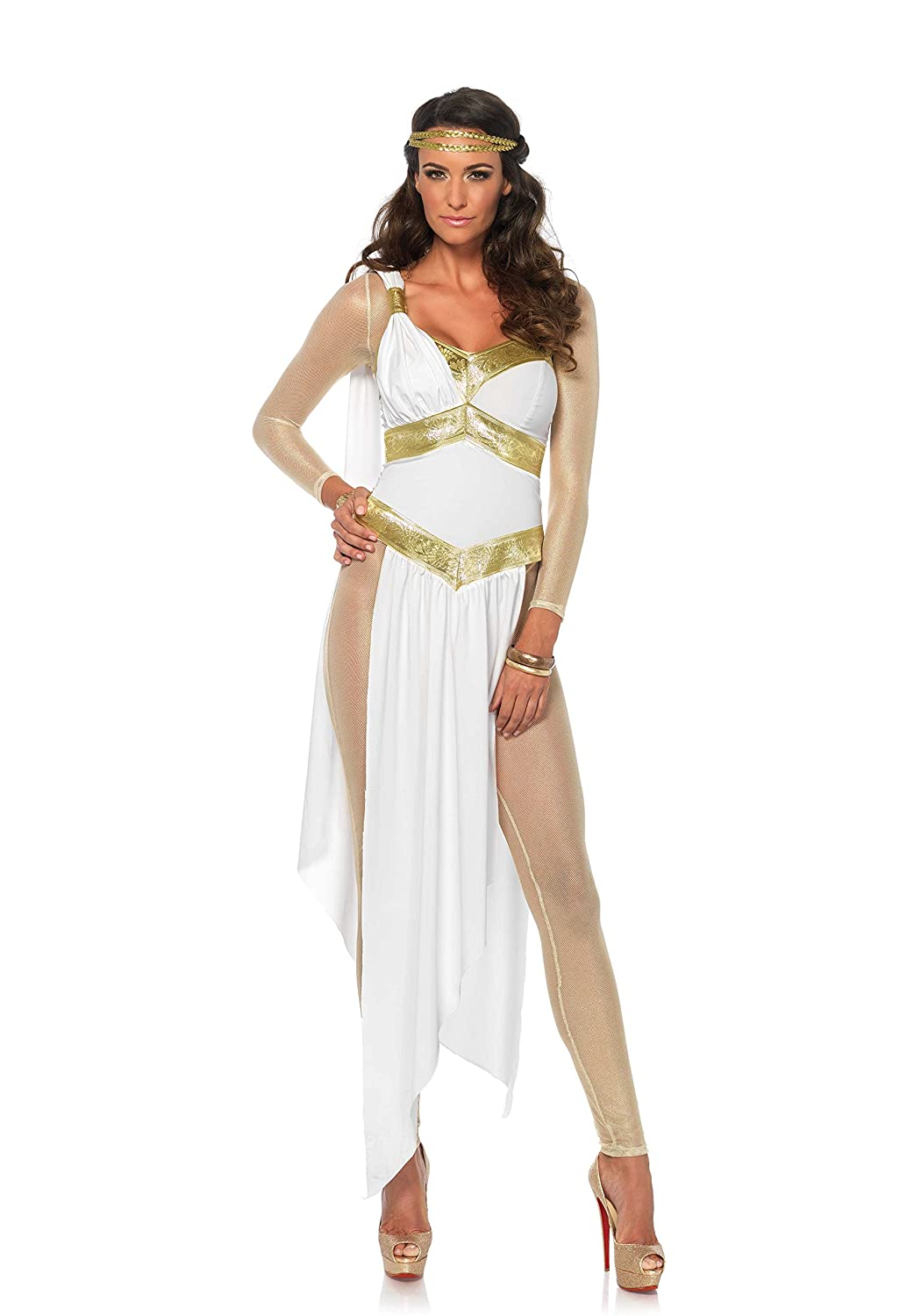 Medium  UK 10 Leg Avenue golden Goddess Costume  85578