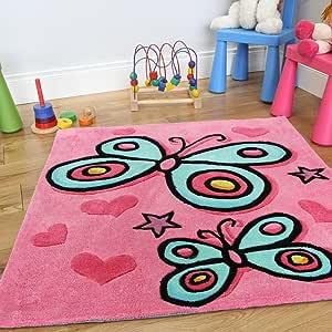 The Rug House Alfombra Suave y Decorativa para niñas