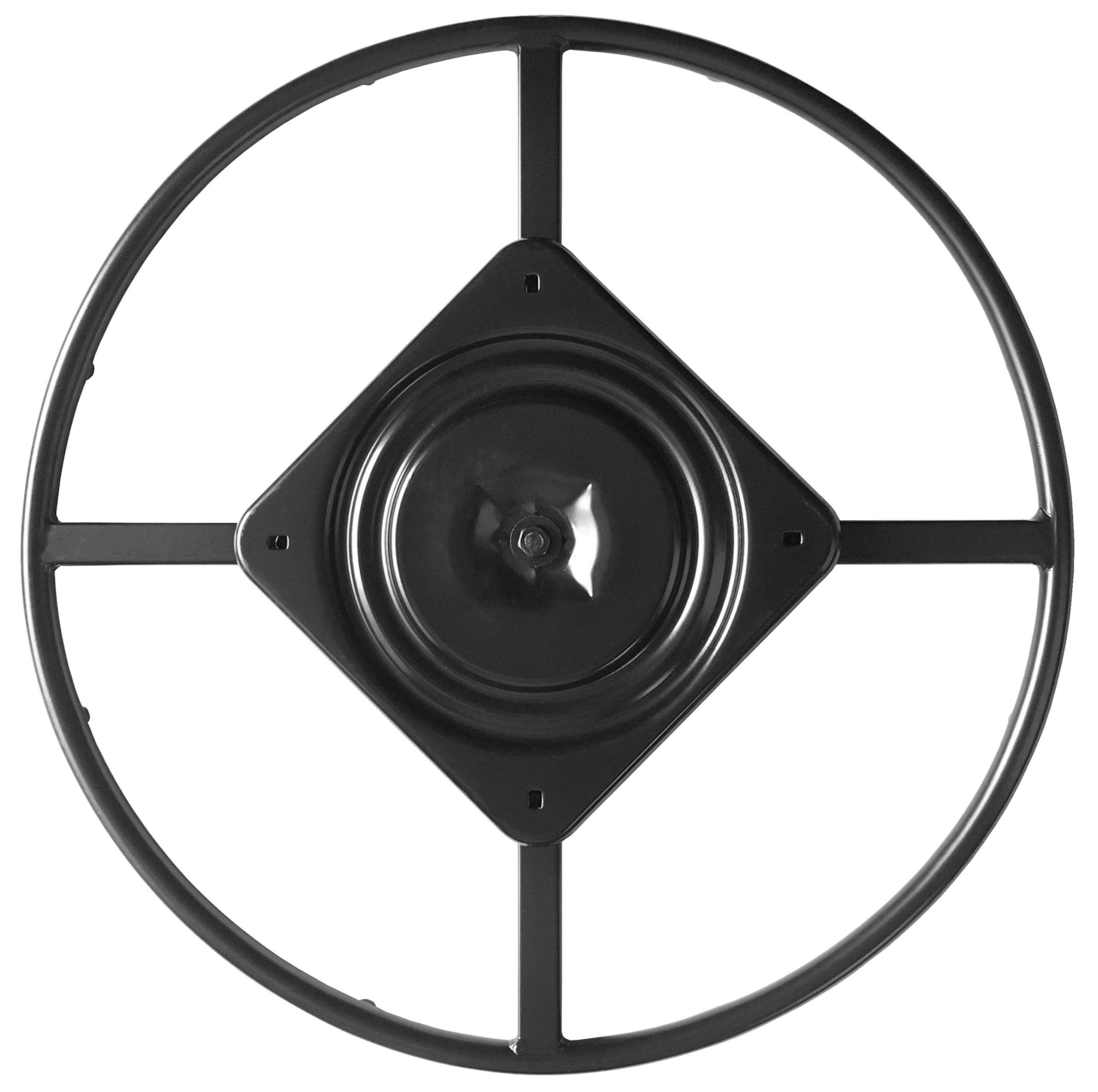 chairpartsonline 24'' Replacement Ring Base w/Swivel for Recliner Chairs & Furniture, Includes Swivel - S5454-A by chairpartsonline