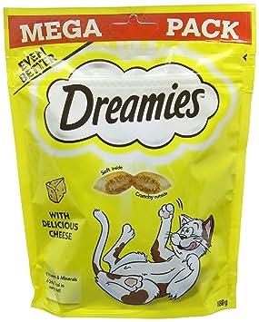 Catisfactions Golosinas para Gatos de Dreamies: Amazon.es: Productos para mascotas