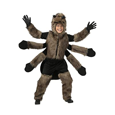 Child Furry Spider Costume: Clothing