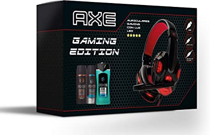 Axe Pack Auriculares Gaming Bodysprays 150 ml Ice Chill y Dark ...