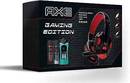 Axe Pack Auriculares Gaming Bodysprays 150 ml Ice Chill y Dark Temptation + Gel de Ducha 250 ml: Amazon.es: Belleza