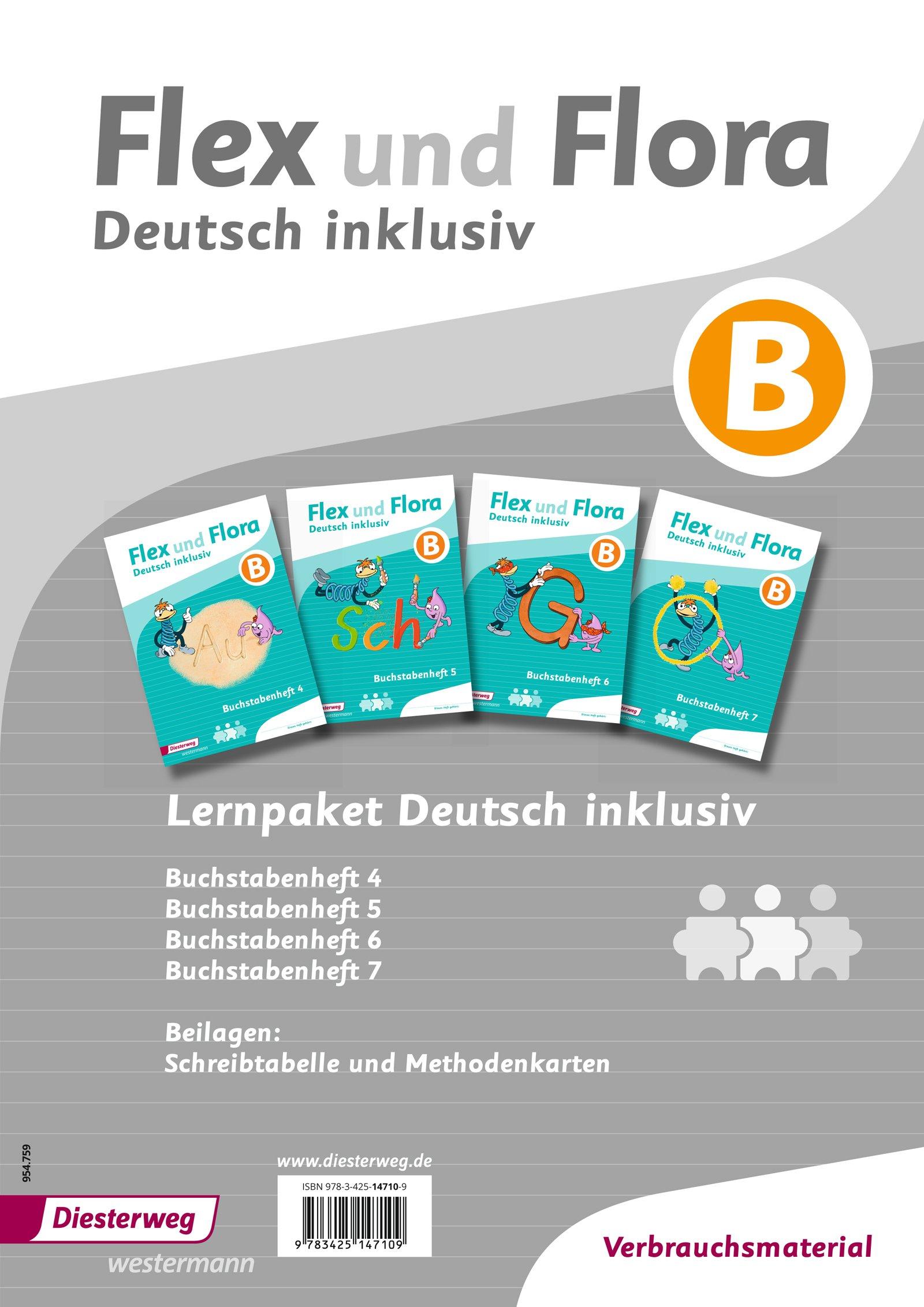Flex und Flora – Inklusionsausgabe: Deutsch inklusiv Paket B