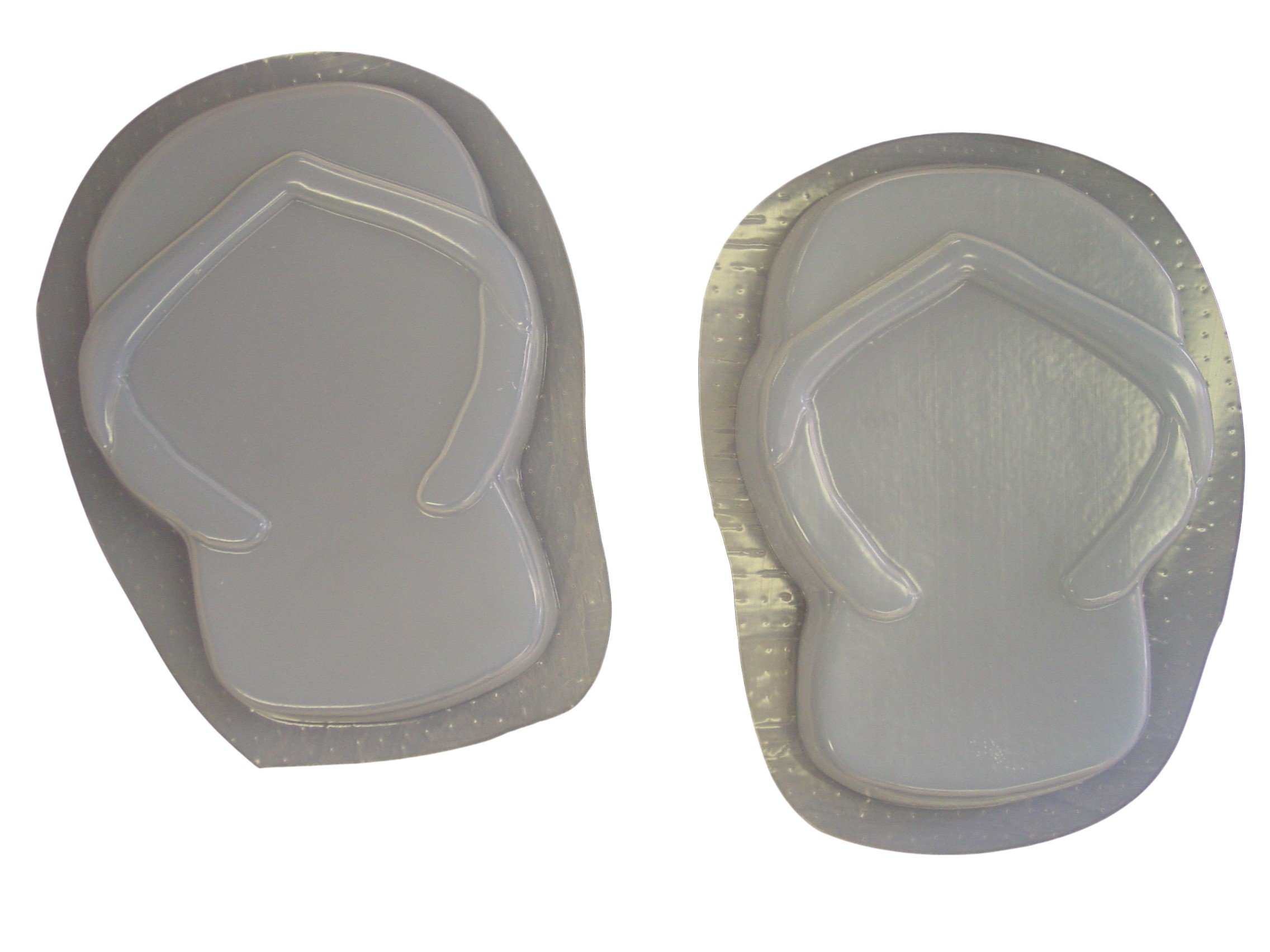 Flip Flops Concrete Plaster Stepping Stone Mold Set 1111