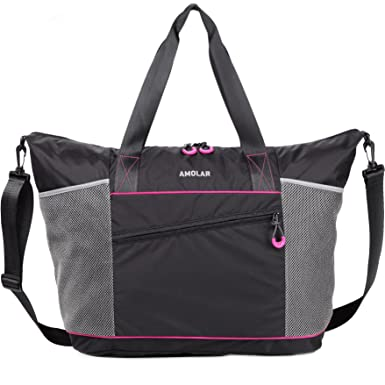 Amolar Tote Bag With Roomy Pockets