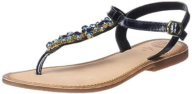 Gioseppo ARANZAZU 39157 schwarze Sandalen schwarze Frau Leder Edelsteine 37 kteHugLss