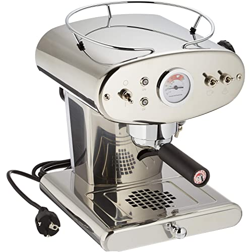 Francis Francis X1 Stainless Steel Ground Coffee Machine