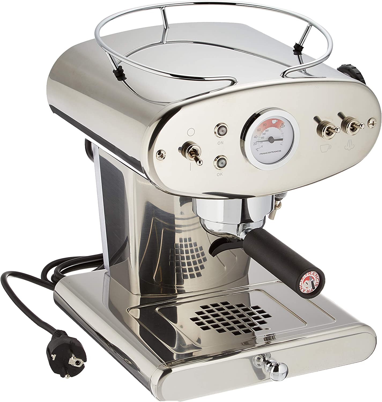 illycaffè 6333 Máquina de café espresso, Acero inoxidable: Amazon.es: Hogar
