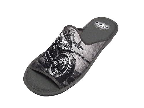 Zapatillas de Estar por casa/Biorelax/Puntera Destapada: Amazon.es: Zapatos y complementos
