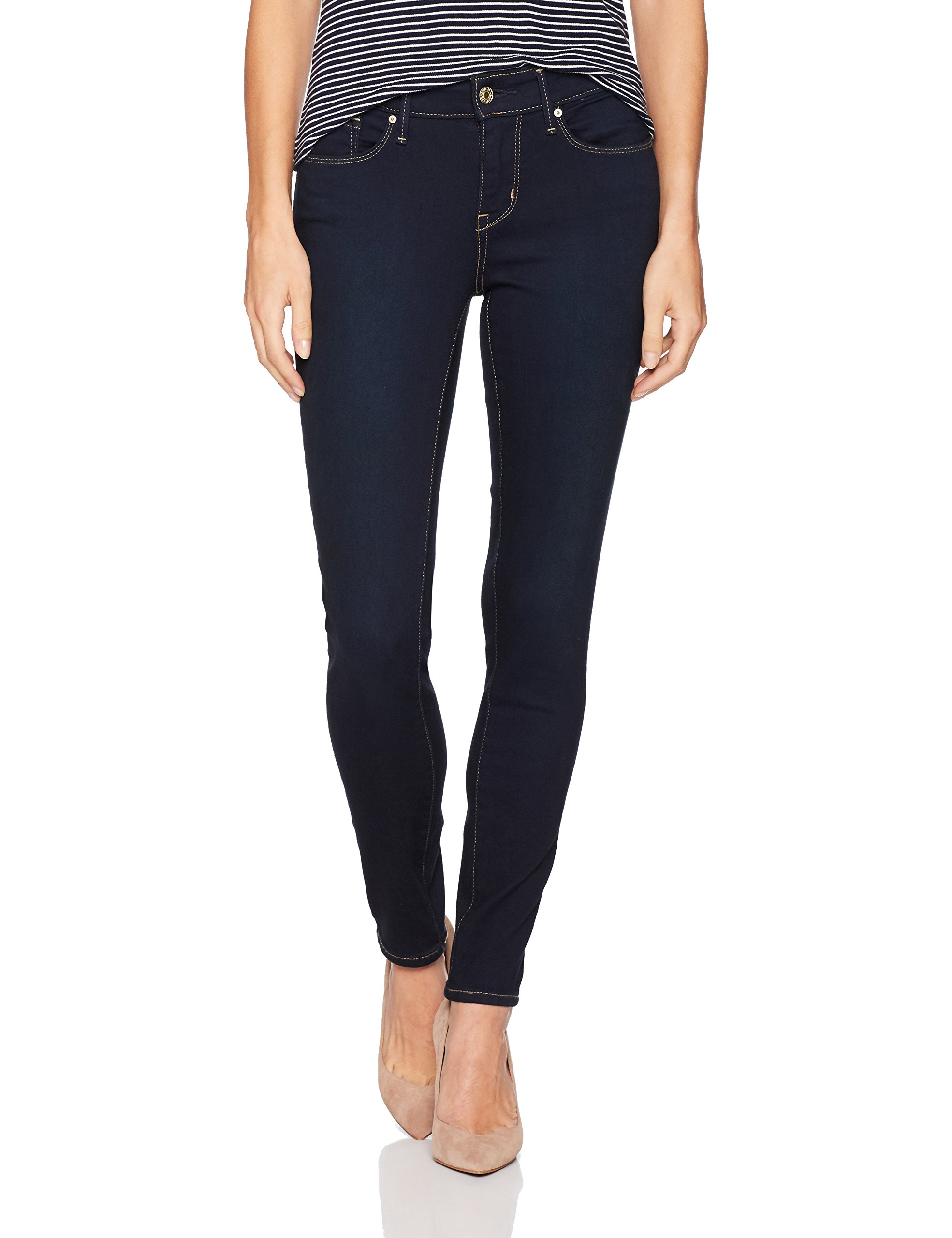 Signature by Levi Strauss & Co. Gold Label Women's Modern Skinny Jeans, Mascara, 14 Medium