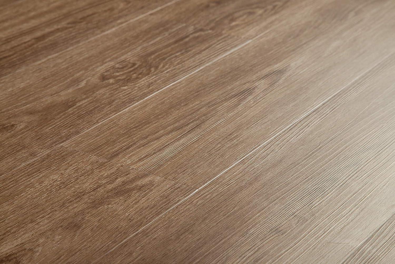 Contemporary Collection-Acacia Vesdura Vinyl Planks 23.64sq. ft. per Box 8.7mm WPC Click Lock