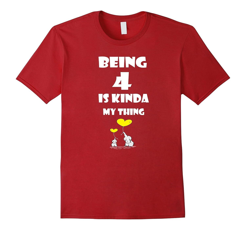 Four Year Old Gift Ideas T Shirt Fourth Birthday ANZ