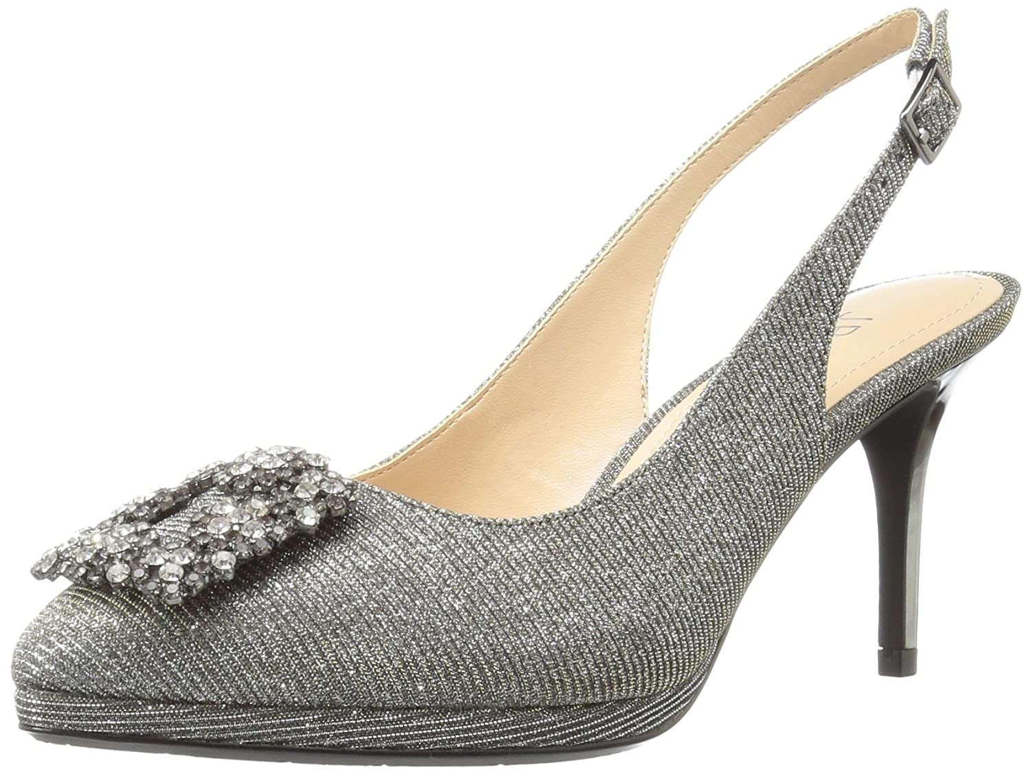J.Renee Women's Devorah Dress Pump B01INJLGDY 11 B(M) US|Pewter