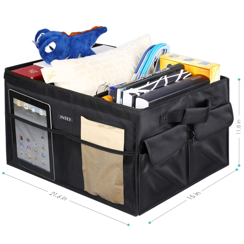 multifuncional 36x18 cm aprox Zollner Caja organizadora para asiento del coche con bolsillos serie Utenso