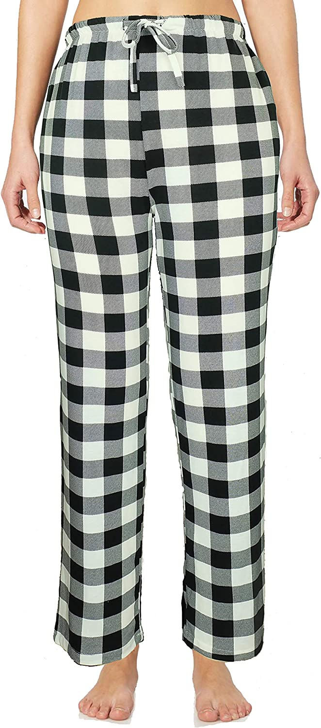 Mengar Women/¡/¯s Simple Lounge Ultra-Soft Pajama Pant with Pocket