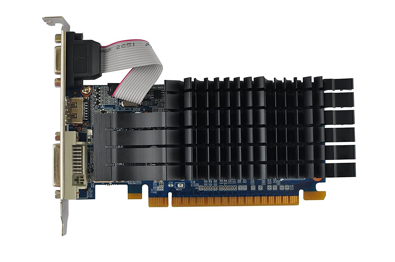 Image result for GALAX GeForce GT 710 PASSIVE 2GB 2GB 64-bit GDDR3 - DVI-D, HDMI, VGA