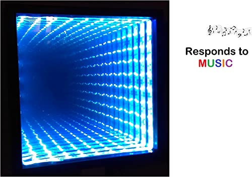 Mainline Infinity Mirror Responds to Music