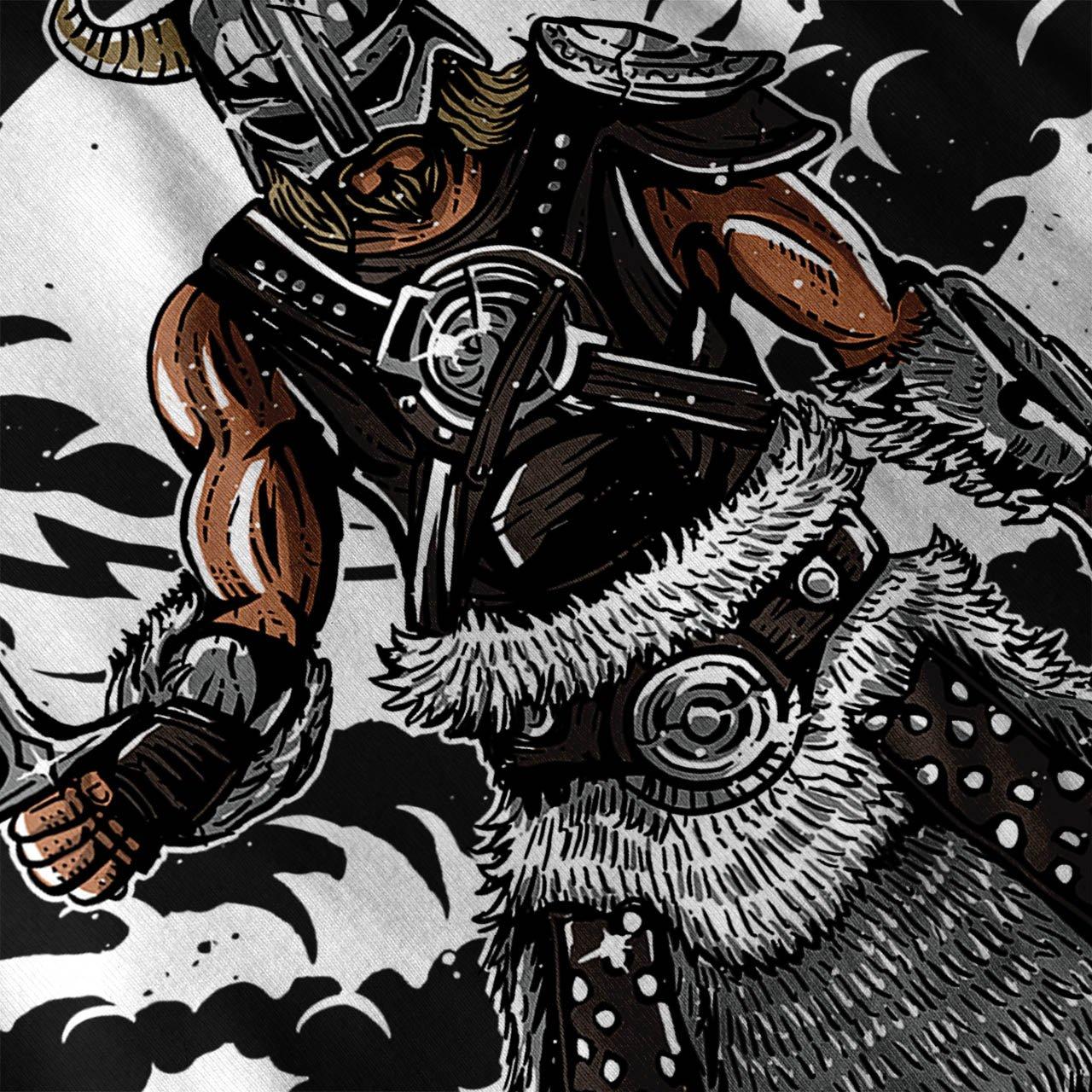 Wellcoda Viking Guerrier Mode Homme D/ébardeur Cavaliere/ Chemise de Sport Actif