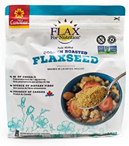 Flax For Nutrition Milled Golden Roasted Graines Delin 1.2 KG