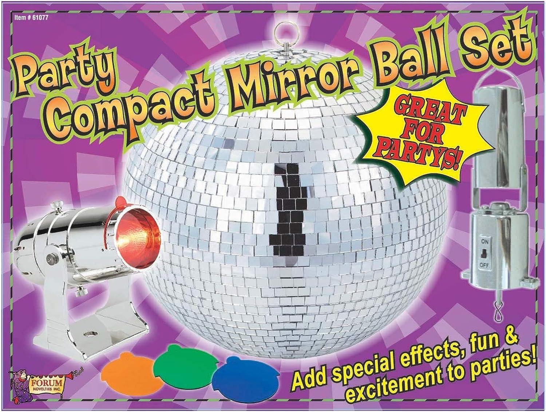 Forum Novelties 61077F 8 pulgadas Mirror Ball Set: Amazon.es ...