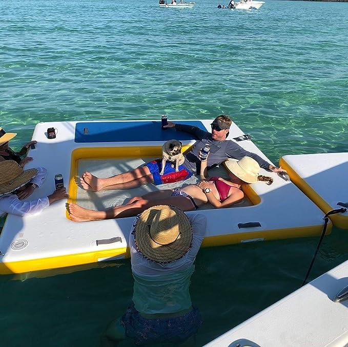 Blue Water Toys - Plataforma Flotante 3 en 1 para Nadar con ...