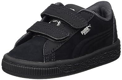 Puma JL Batman Basket V Inf, Sneakers Basses Mixte Enfant
