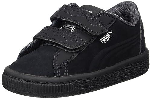 Puma Jl Batman Basket V Inf, Zapatillas Unisex Niños, Negro (Black-Black), 22 EU