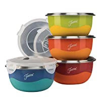 Deals on Fiesta 9378S8FBR 8-Piece Microwave Safe Prep Bowl Set 0.75 Qt