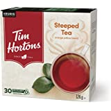 Tim Hortons Steeped Tea, Recyclable Single Serve Keurig K-Cup Pods, Black Tea, 30 Count