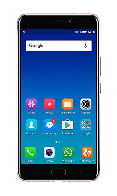 Gionee A1 Plus W1617 (Mocha Gold, 64GB) Smartphones at amazon