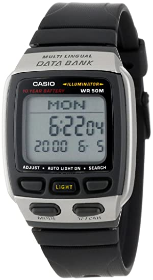 Casio Reloj con Movimiento Cuarzo japonés DB37H-1AV 40 mm: Amazon.es ...