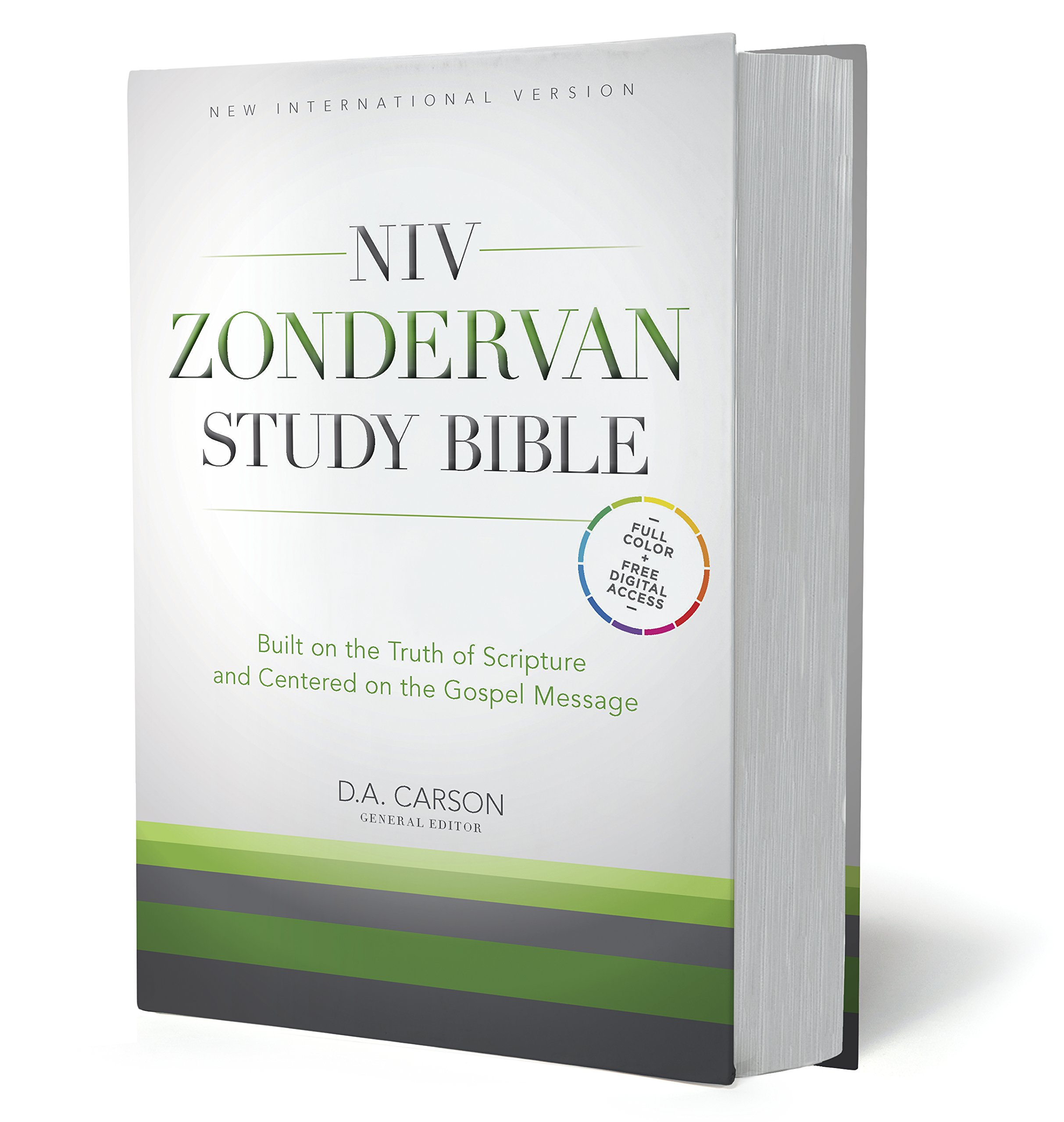 NIV Zondervan Study Bible, Hardcover: Built on the Truth of