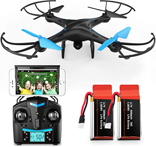 Force1 U45W Drone With Camera For Adults Remo