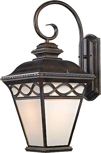 Cornerstone Lighting 8571EW 70 Thomas Lighting Sconce, Hazelnut Bronze
