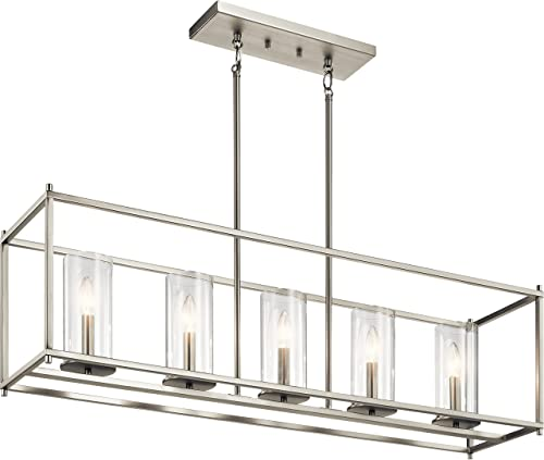 Kichler Lighting 43995NI Chandelier, Brushed Nickel