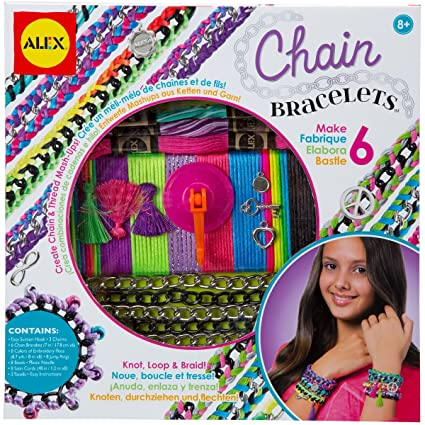 Amazon alex toys do it yourself wear chain bracelets kit toys alex toys do it yourself wear chain bracelets kit solutioingenieria Images