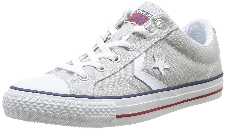 Converse Sp Core Canv Ox 289161-52-10 Unisex - Erwachsene Sneaker  42 EU (8.5 UK)|Grau (Gray/White)