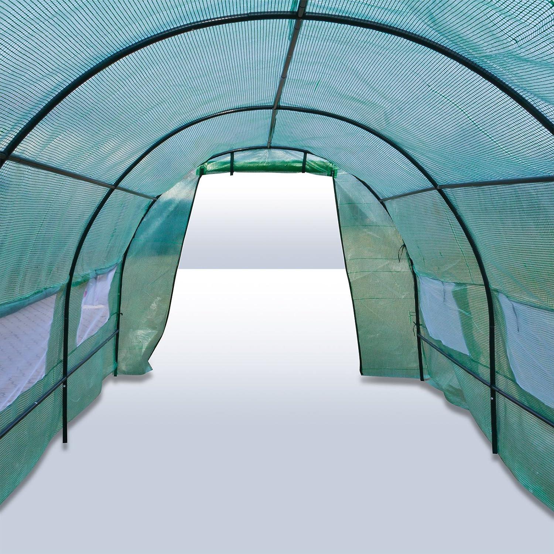 DEMA Gew/ächshaus Tunnel 450 x 200 x 175 cm