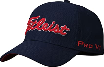 5f40e2be Amazon.com : Titleist Men's Dobby Tech Golf Hat : Sports & Outdoors