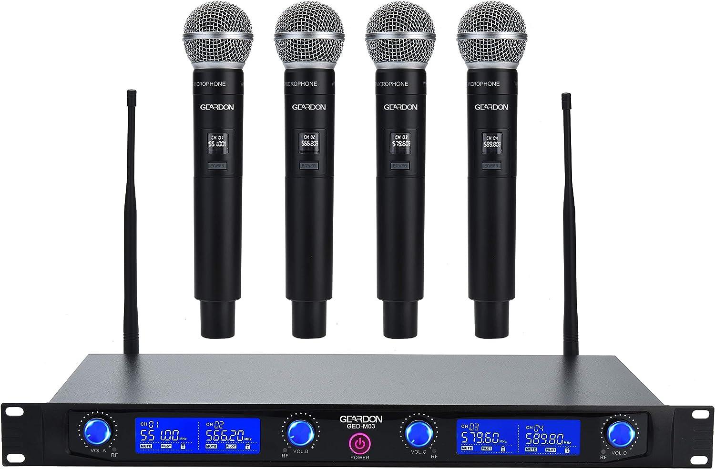 Geardon Pro Wireless Microphone System