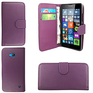 best sneakers ad748 385f8 Microsoft Lumia 640 LTE diamond glitter PU Leather Case Cover With Magnetic  Flip Book for Microsoft Lumia 640 LTE case cover wallet flip book (Purple  ...