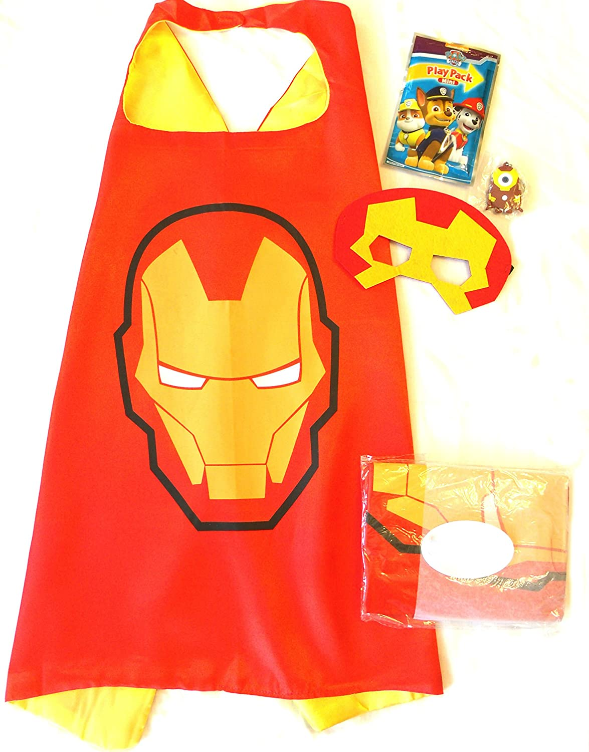 Color-N-Splash Three Piece Superhero Cape /& Mask Sets for Pretend Play Dress up Parties by