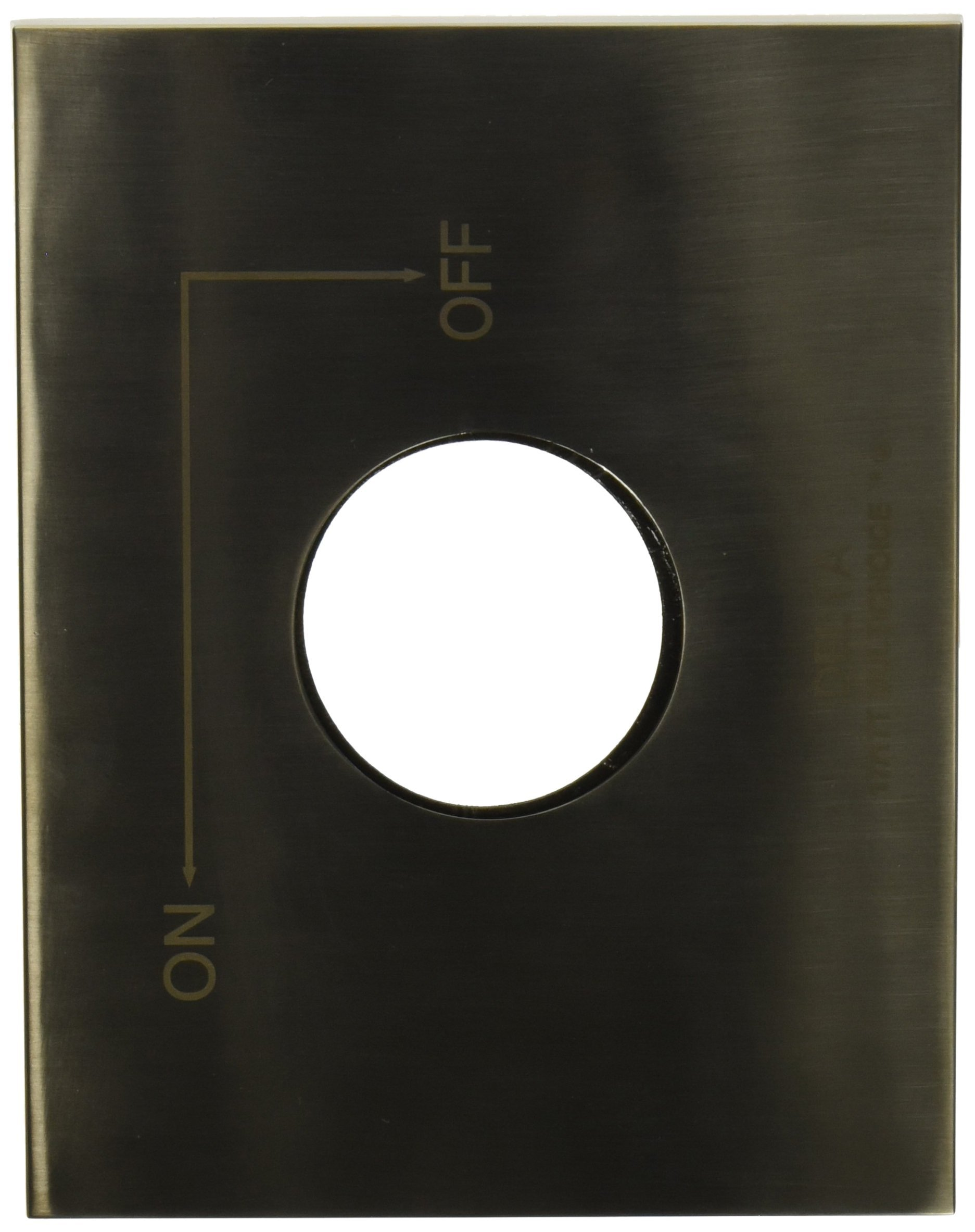 Delta RP62958SS Vero Escutcheon and Gasket, Stainless