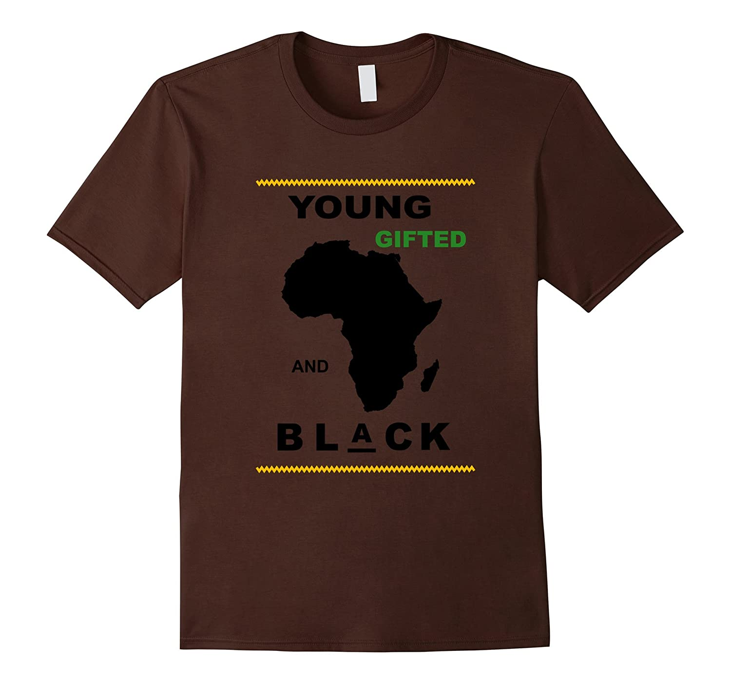 African American Young Gifted and Black Power Shirt
