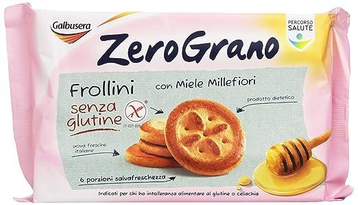 8 opinioni per Galbusera- ZeroGrano Frollini con Miele Millefiori, senza Glutine- 260 g
