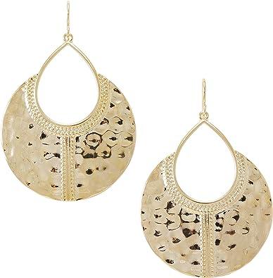 Hammered Triangle Silver Dangle Earrings Boho Earrings Boho Jewelry Date Night Jewelry Gemstone Earrings Womens Earrings Gift Idea for Her